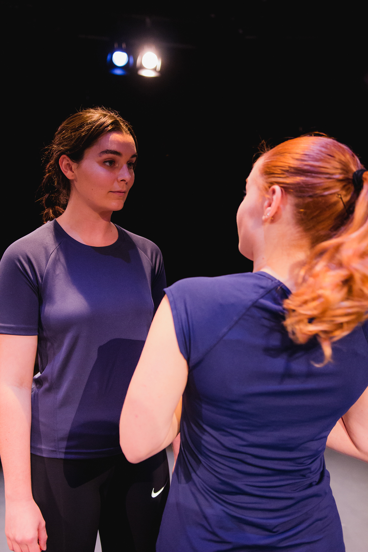 The performance makers: Jessica Russell, Phoebe Sullivan