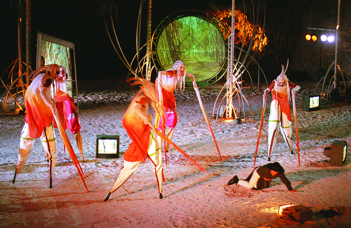 Making Art In Heavy Weather Australian Indigenous Performance