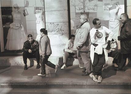 Ghislaine Hamid, Les hommes debout, 2006