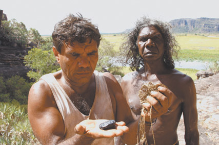 Tom E Lewis, David Gulpilil, Crocodile Dreaming