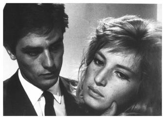 Alain Delon, Monica Vitti, L'eclisse, 1962