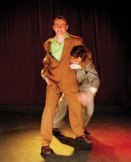 Richard Lowdon, Robin Arthur, Forced Entertainment