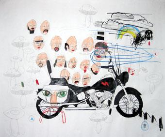 Brad Cook, Biker