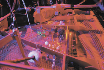 Cranky Robotics, prepared piano