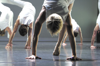 Dance students from the Faculty of Creative Industries, QUT