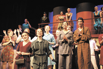 The Arts Academy, University of Ballarat, Anything Goes
