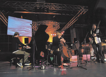 Erik Griswold (piano), Louise King (cello), Oscar Garrido de la Rosa (bassoon), Sounding Wivenoe, Liquid Architecture
