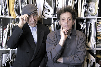 Leonard Cohen & Philip Glass