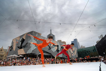 "Merce Cunningham Dance Company,<br /> The Melbourne Event, Federation Square ""></p> <p class="
