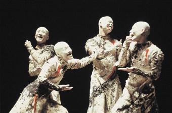 Sankai Juku, Kagemi, Beyond the Metaphors of Mirrors