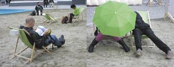 Pfarrplatz Lido (Second Life/Bondi Beach) - Ars Electronica Futurela