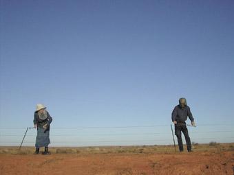 Hollis Taylor & Jon Rose, Twin Lakes, NSW