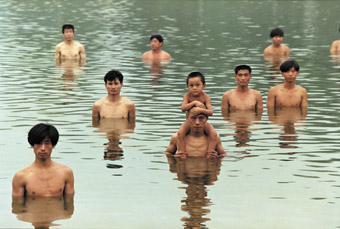 To Raise the Level of Water in a Fishpond (1997), Zhang Huan