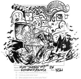 Matt Huynh, from Komala Singh's All Draw Same anthology