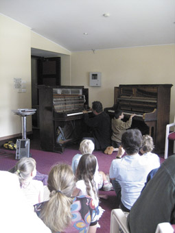 Ross Bolleter, Ruined Piano workshop