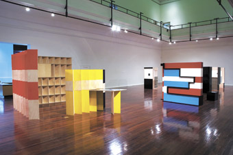 Gail Hastings, Sculptural Situations, 2008, installation view at the Perth Institute of Contemporary Arts