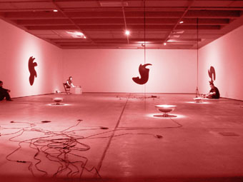 Ed Osborn & Elision, Particle Moves 2003 photo courtesy Institute of Modern Art