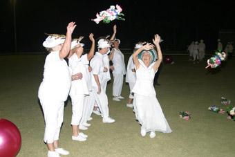 Tracks, A Bowls Club Wedding