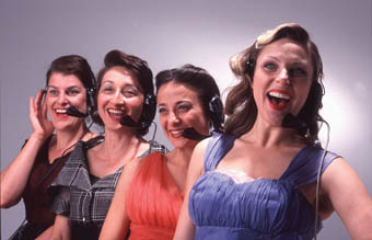 Anthea Davis, Eugenia Fragos, Daniella Farinacci, Miria Kostiuk, The Telephone Exchange