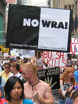 Anti-war protests, 2003