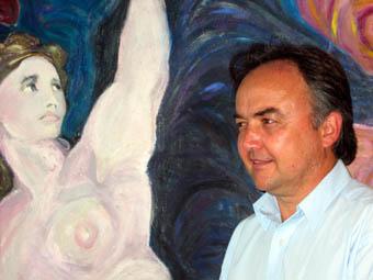 John Davis, painting, Simon Chambers