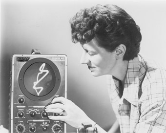 Mary Ellen Bute (USA), pioneer of visual music and electronic art