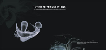Intimate Transactions book cover by Stuart Lawson