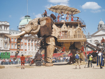 The Sultan's Elephant, Royale de Luxe