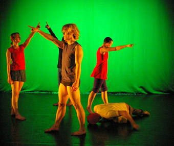 "Tanja Liedtke's Always Building<BR />front: Jason Lam, left to right: Tanya Voges, Kyle Kremerskothen, <br />Trisha Dunn, Joshua Thomson""></p> <p class="