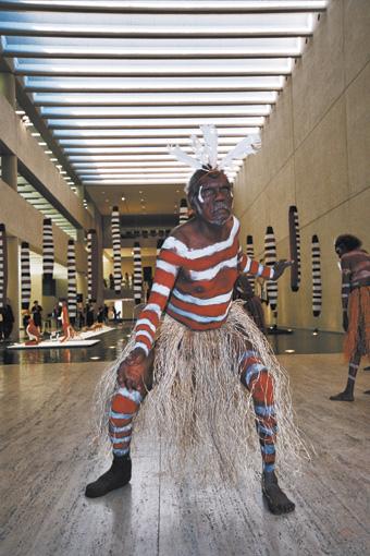 Arthur Pambegan, Jr., Aurukun Dancers