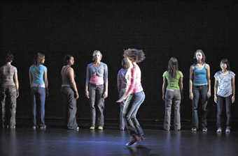 LINK Dance Company Production, Oscillate, Mountains Never Meet, choreographed by Martin del Amo