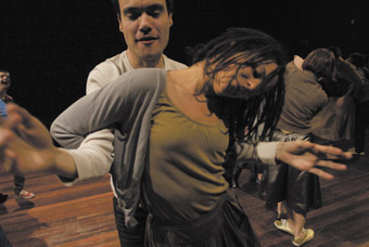 Clem Baad, Jay Kimber, The Heart of Another is a Dark Forest, Rawcus Theatre and Restless Dance Theatre