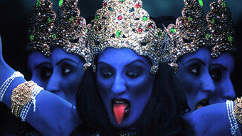 Uupekha Jain as Kali, When The Gods Came Down To Earth, Srinivas Krishna and Divani Films Inc
