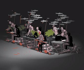Yves Netzhammer, Die Subjektivierung der  Wiederholung/The Subjectivisation of Repetition, Project  C