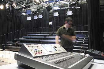 James Hurley in the Bon Marche Studio