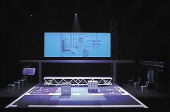 Architektin set, designer Mary Moore