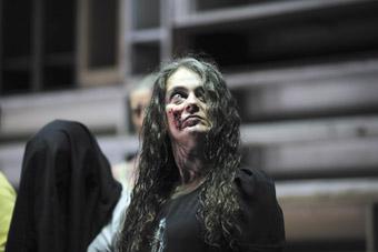 Melita Jurisic as Cassandra, The Women of Troy