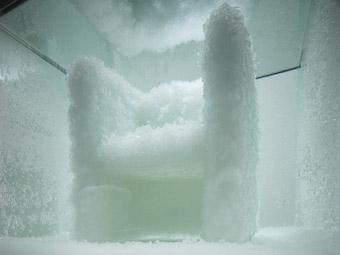 Venus, Natural Crystal Chair, Tokujin Yoshioka, from the 21_21 Design Sight show Second Nature, directed by Tokujin Yoshioka, Tokyo
