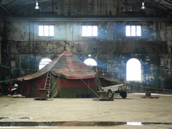 Tent, Matt Prest