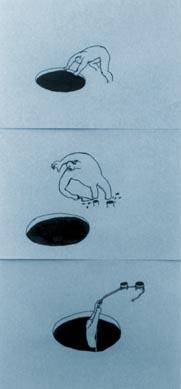 Midori Oki, Skin Diving, Hatched, PICA