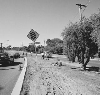 Derek Kreckler, roadside