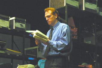 Scott Shepherd, GATZ, Elevator Repair Service