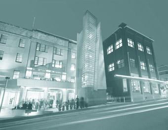 IMA entrance, Judith Wright Centre of Contemporary Arts