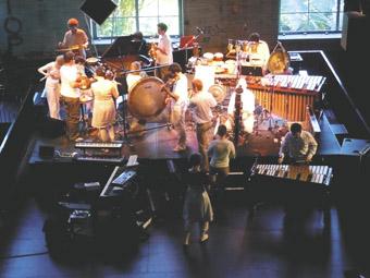 Queensland Conservatorium New Music Ensemble performing Ylem