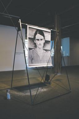 installation view, Alicia Frankovich
