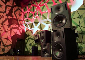 Bernard Parmegiani installation, Melbourne, LA4
