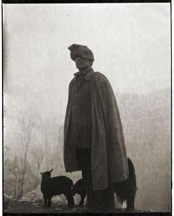 Man with Sheep, 2006, Adou