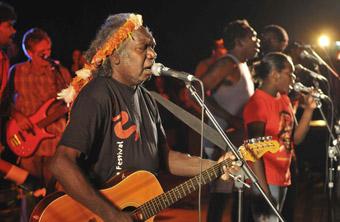 Mandawuy Yunupingu and Yothu Yindi Band, Garma Festival