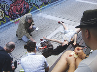 LAPS (Live Art In Public Space)