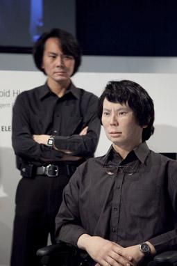 Geminoid Hl-1, Hiroshi Ishiguro